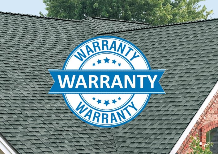 providing a roof replacement warranty in humble tx